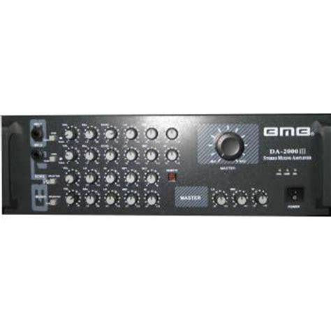 bmb da 2000 pro stereo mixing