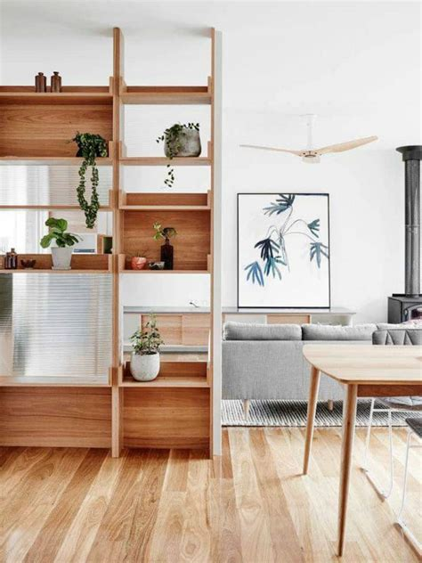 Shelf Partitions 30 wood partitions that add aesthetic value to your home
