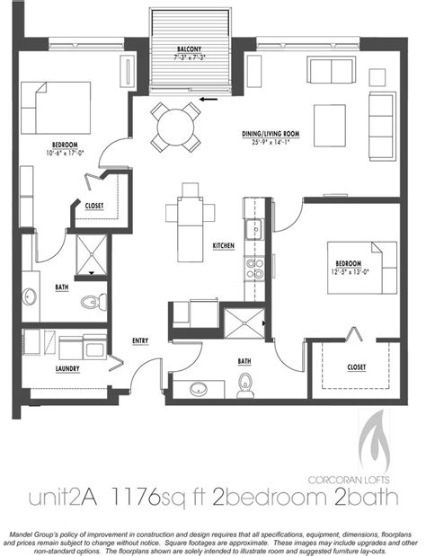 2 bedroom with loft house plans best 25 condo floor plans ideas on apartment