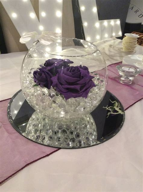 181 best wedding fish bowl centerpieces images on pinterest