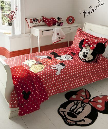 Minnie Mouse Bedding Set Minnie Mouse Bed Set Ember Pinterest