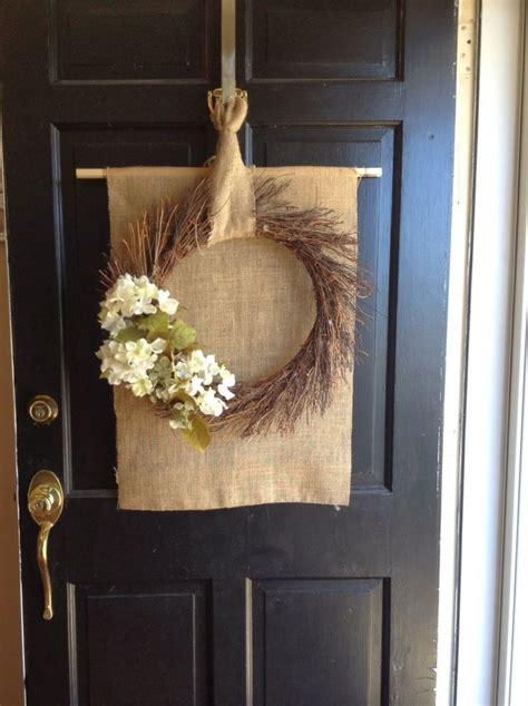 Diy Front Door Spring Wreath Wreaths Pinterest Diy Wreaths Front Door