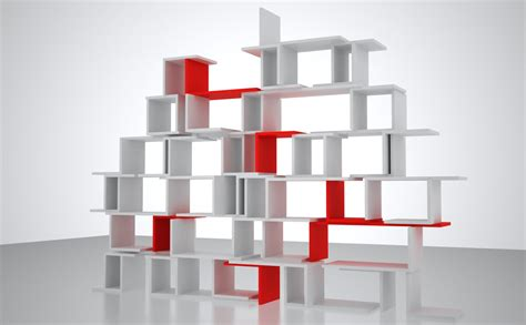 Shelf Stackers by Stack It Build Your Own Design Shelf