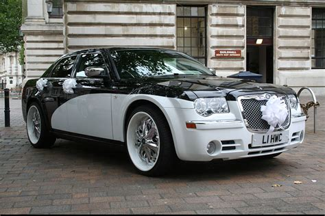 chrysler car white hamilton wedding cars