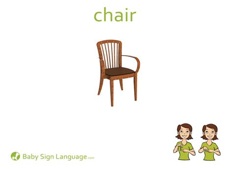 how do you say chair in chair