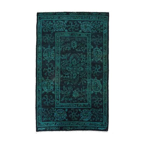 Teal Area Rug 5 X 8 Darya Rugs Moroccan Teal 5 Ft X 8 Ft 2 In Indoor Area Rug M1681 309 The Home Depot