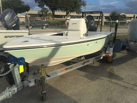 flats boats hewes 2017 new hewes 16 redfisher flats fishing boat for sale