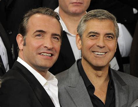 jean dujardin y george clooney george clooney jean dujardin could team up for