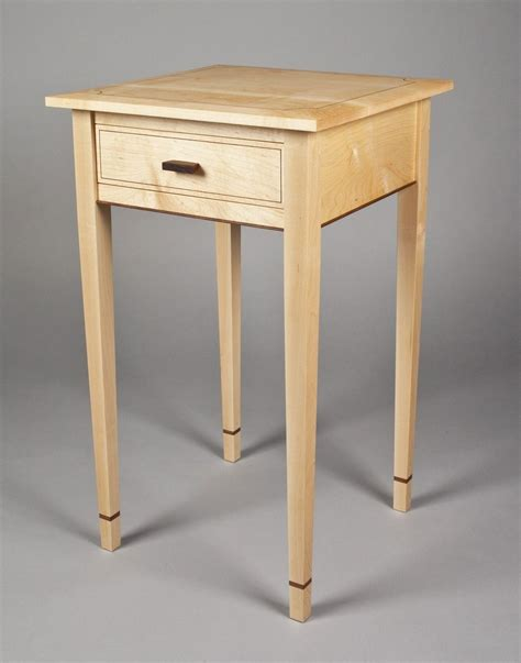 Handmade Bedside Tables - handmade bedside table by e n curtis woodworks