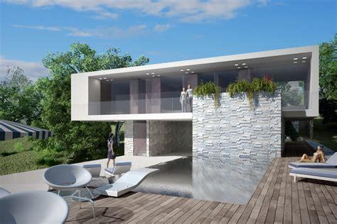 terrazzo con piscina foto vista 02 terrazza abitazione con piscina di at