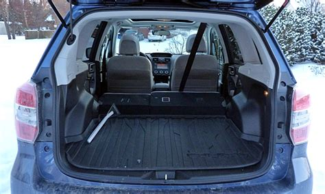 Subaru Forester Cargo Space Dimensions by 2014 Subaru Forester Pros And Cons At Truedelta 2014