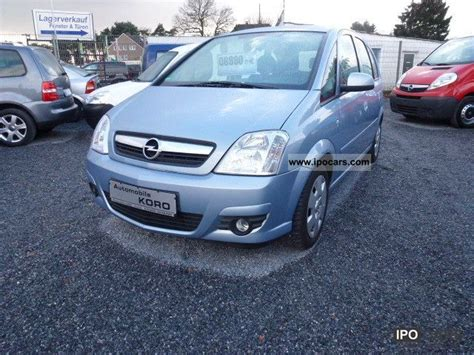 opel meriva 2008 2008 opel meriva 1 4 edition air car photo and specs