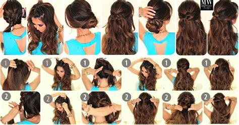 how to 6 easy lazy summer hairstyles hair tutorial word w 6 easy lazy hairstyles how to 5 minute everyday