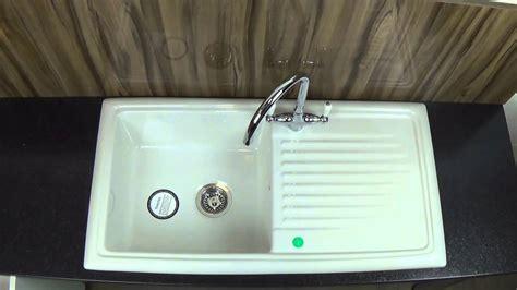 reginox rlcw ceramic kitchen sink youtube