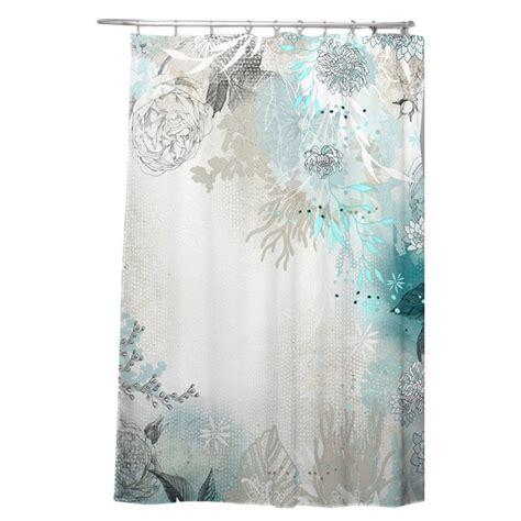 holley seafoam single shower curtain reviews allmodern