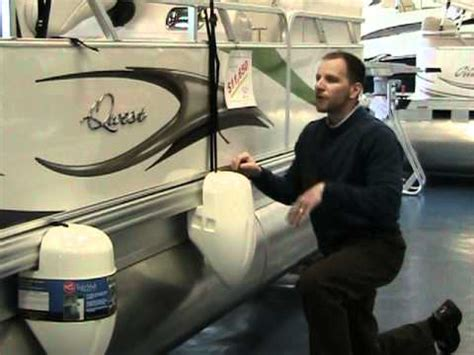 pontoon boat bumpers pontoon boat fenders at peters marine service youtube