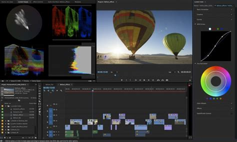 adobe premiere pro workspace premiere pro just got some massive upgrades to its color