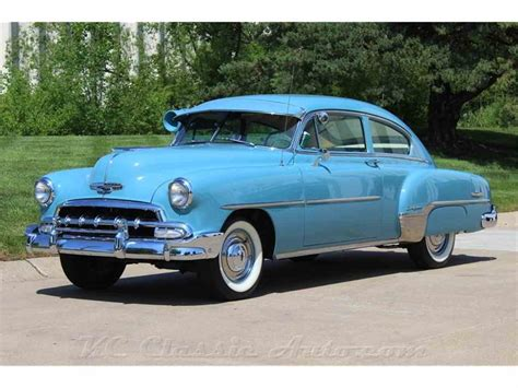 1952 chevrolet for sale 1952 chevrolet bel air fleetline deluxe automatic air