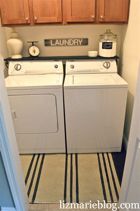 laundry room makeover more washer and shelves ideas