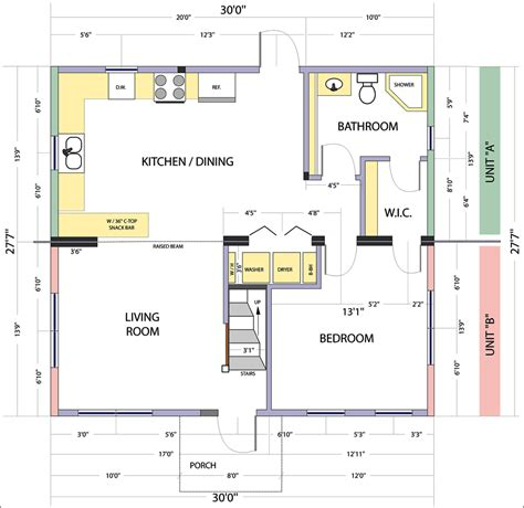 home floor plan fresh small kitchen floor plans design 5460