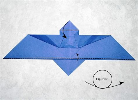 Origami Batman Batarang - batman v superman origami batarang 10