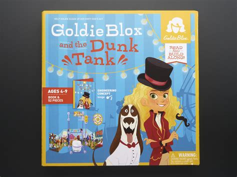 goldie blox and the best friend fail goldieblox a stepping book tm books goldie blox and the dunk tank id 1765 19 99 adafruit