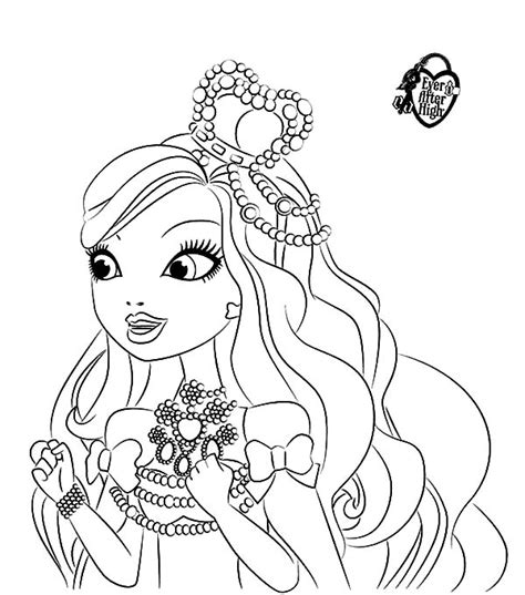 ever after high coloring pages ashlynn ella 8 images of ever after high ashlynn ella coloring pages