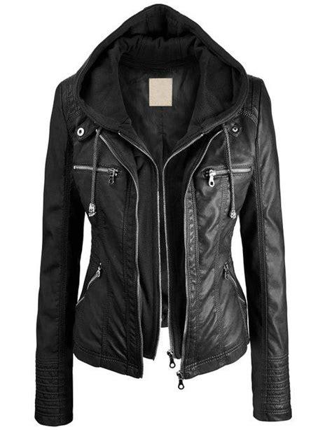 Jaket Sweater Hoodie Isela Thing Black Hoodie Home Clothing 1 ll womens removable hoodie motorcyle from