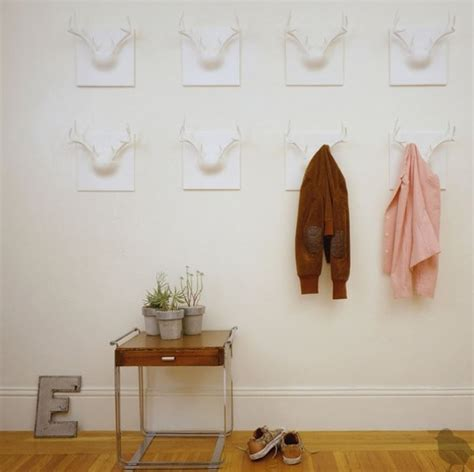 Coat Hook Ideas | creative coat rack designs to help save space