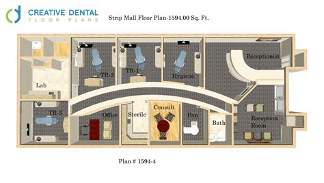 House Plan Layouts by Creative Dental Floor Plans General Dentist Floor Plans