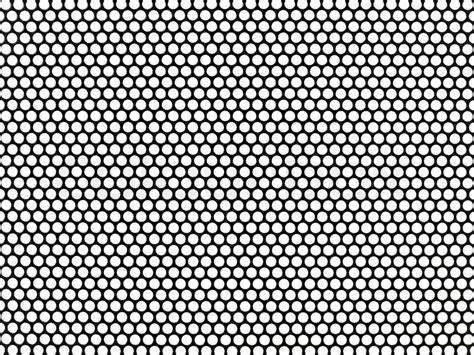 black and white mesh pattern metal mesh plating isolated against a white background