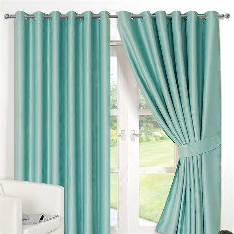 thermal lined eyelet curtains ring top fully lined pair eyelet ready made curtains