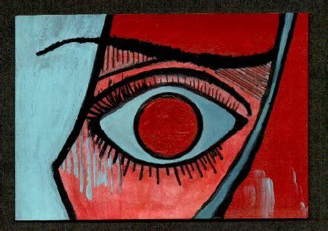 Picasso Eye 1 By Maddamemaddness On Deviantart