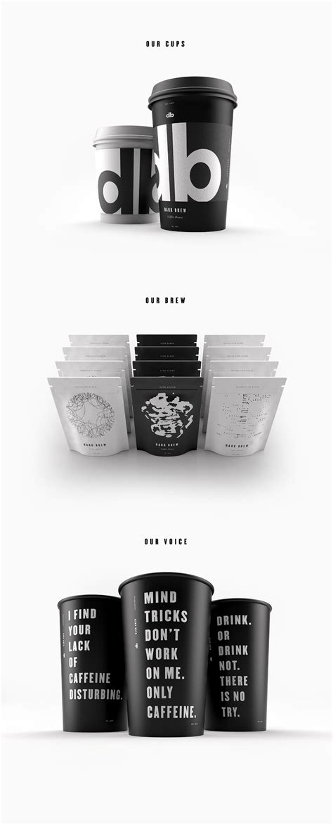 brew coffee house dark brew coffee house concept on packaging of the world creative package design