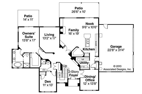 traditional floor plan traditional house plans bloomsburg 30 667 associated