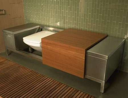the bench toilet troy adams luxury loo