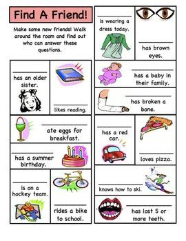 How To Make Students Feel Comfortable In The Classroom by Beginning Of The Year Activity This Is A Way For The Students To Get To One