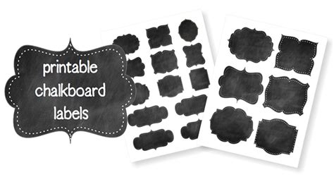 print your own gift labels self sufficiency free printable chalkboard labels your way