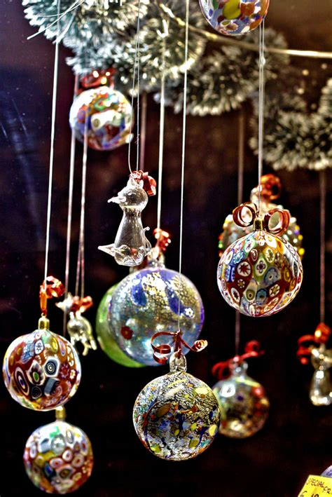 high end glass christmas ornaments venetian glass balls beautiful delicate and can only be t flickr