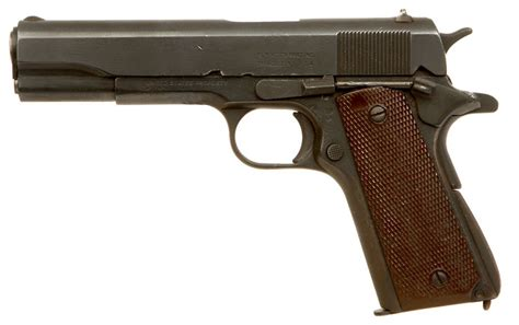 deactivated wwi wwii colt 1911 specification