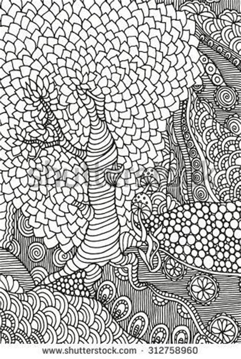abstract leaf coloring pages trees leaf template and abstract on pinterest