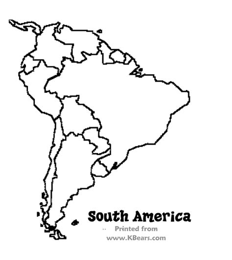 latin america map coloring pages south american coloring sheets murderthestout