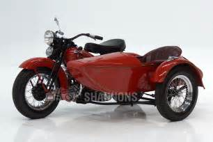 Harley Davidson Sidecar For Sale by Harley Davidson W Motorcycle With Sidecar Auctions Lot