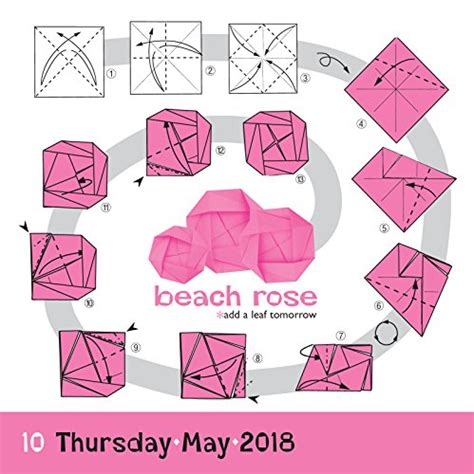 Origami A Day - origami page a day calendar 2018 calendar store