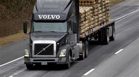 volvo trucks ab ab volvo ends 2017 with record revenue transport topics