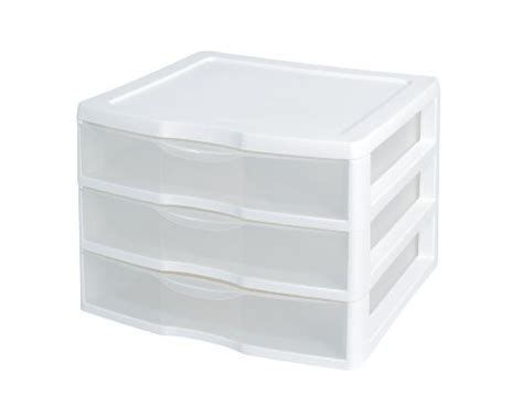 sterilite 3 drawer small organizer white sterilite storage drawer units 3 drawer organizer