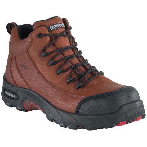 composite toe hiking boots s reebok 174 composite toe waterproof sport hiker boots