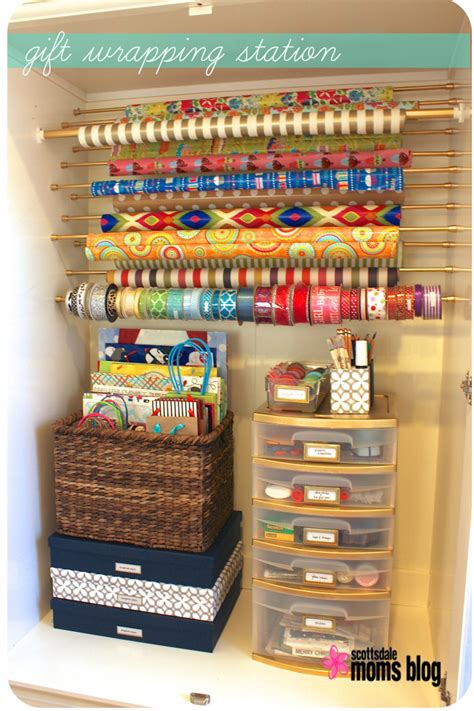 gift wrapping organization ideas diy craft gift wrapping storage for 30