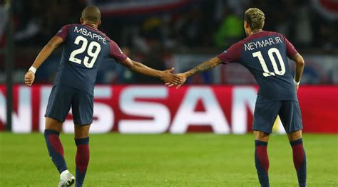 kylian mbappe and neymar kylian mbappe crowned 2017 golden boy