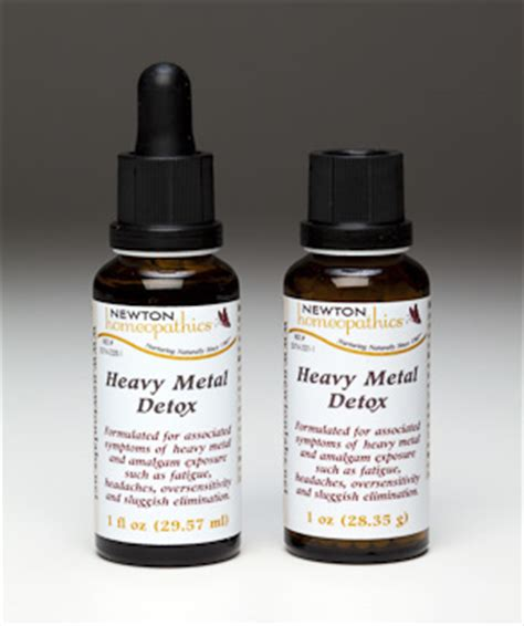 Homeopathic Heavy Metal Detox by Newton Homeopathics Heavy Metal Detox